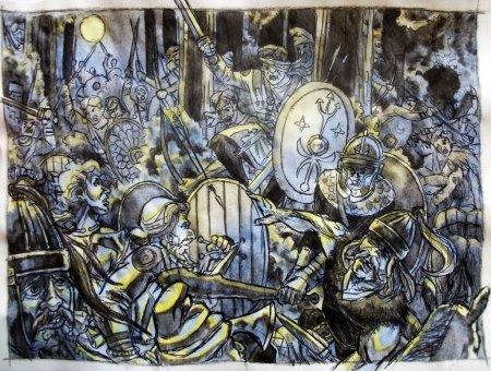 La bataille dans les bois calédoniens : une opération bien préparée