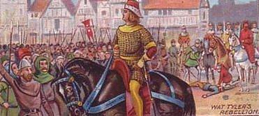 Wat Tyler, un meneur trahi par son roi