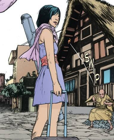 Katana, une super héroïne à l'esprit samouraï