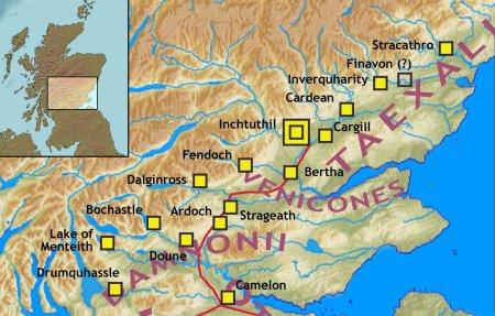 La Gask Ridge Frontier, la première ligne de défense romaine