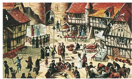 Les foires médiévales