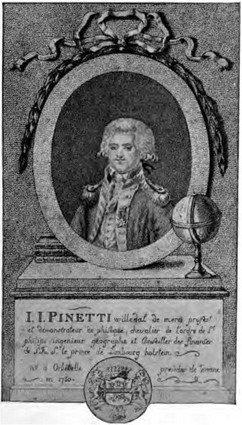 Pinetti, le Professeur de Magie Naturelle