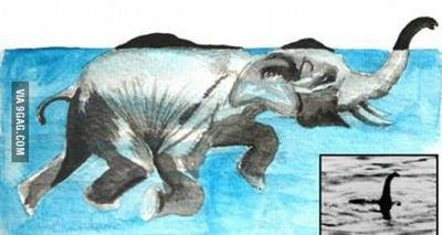 Il y a-t-il un monstre dans le Loch Ness ?