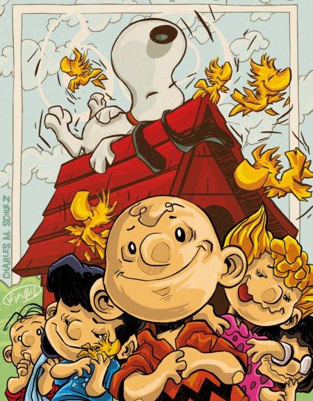 Peanuts, un regard amusant des États-Unis