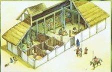 Les halls en bois de Bretagne : des salles de festin démontrant le pouvoir des chefs bretons