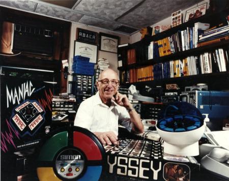 Ralph H. Baer, l'inventeur de la première console de jeux
