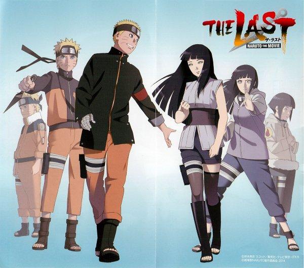 Naruto et Hinata, un couple à l'histoire mouvementée et heureuse
