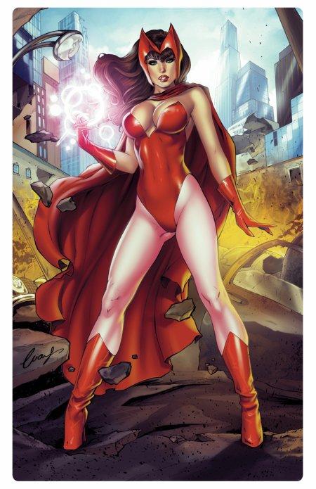 Scarlet Whitch, la détentrice de la magie du chaos
