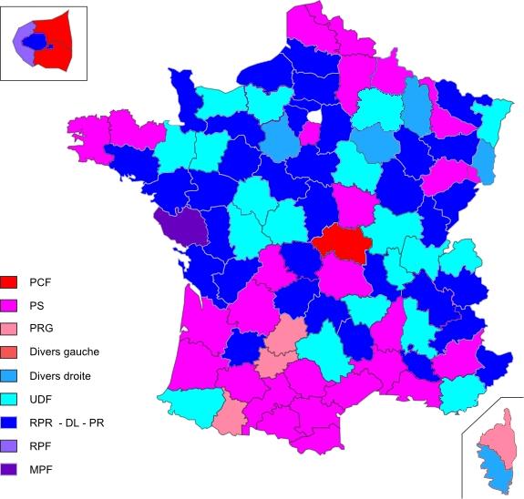Les élections cantonales de 1988