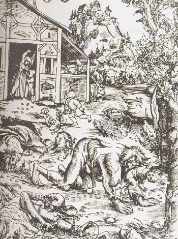 Gilles Garnier, un cas de loup-garou qui n'avait pas besoin du bûcher
