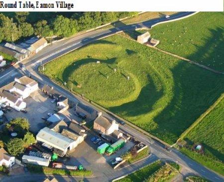 Pen Rhionydd, la capitale au nord du roi Arthur