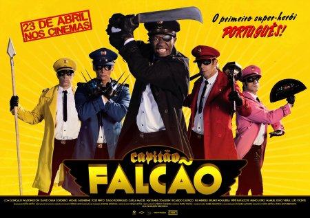 Capitão Falcão, le premier super héros portugais