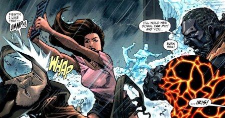 Iris West Allen, un support central pour la Flash family