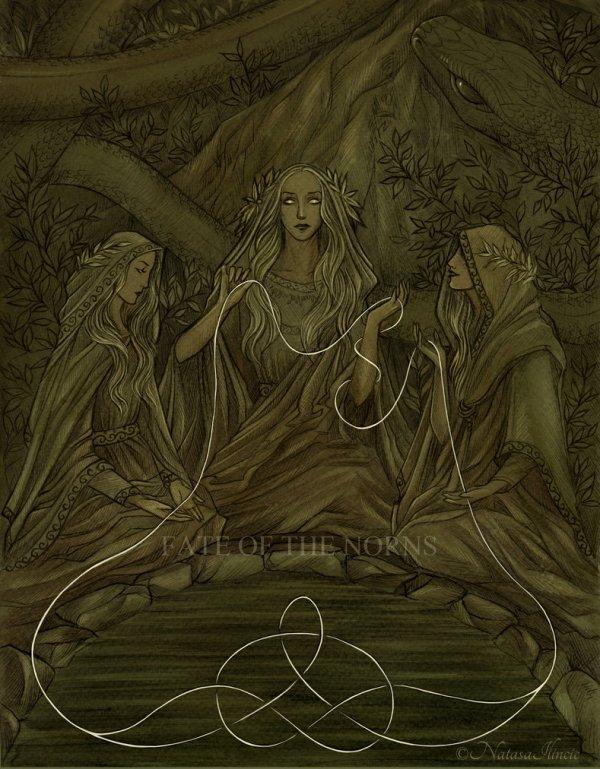 Les trois Nornes, une personnification du destin qui inspire encore