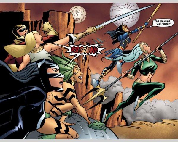 Big Barda, la femme forte de DC Comics
