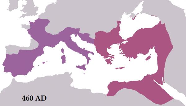 Ça s'est passé un 28 décembre  : Majorien est acclamé empereur romain d'Occident