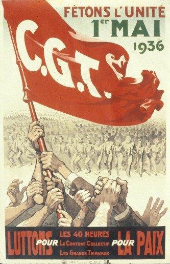 Le 1er mai 1936 : la contribution à la victoire du Front Populaire
