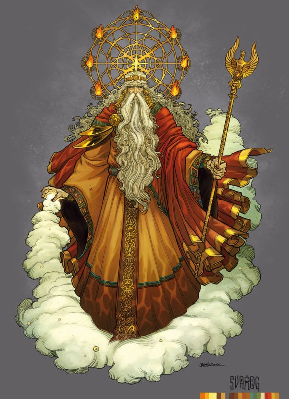 Svarog, un dieu slave important peu à peu minoré