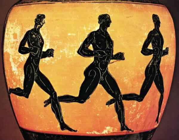 Le premier jour de compétition : la course à pied