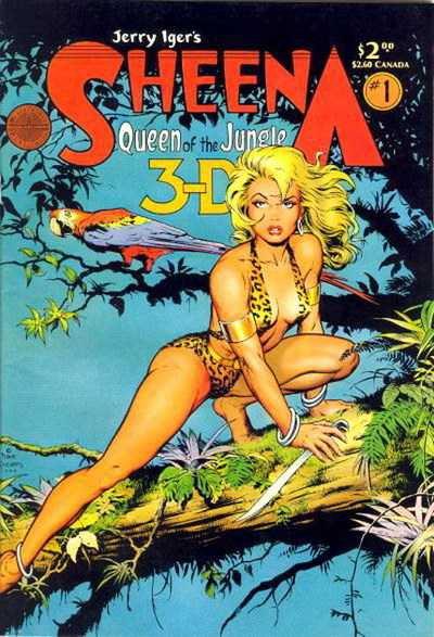 Sheena, la reine de la jungle : la première héroïne de comics