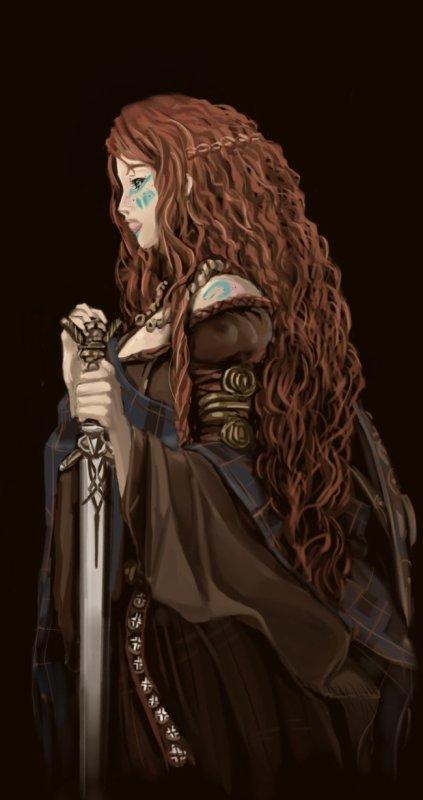 Boudicca, la reine indomptable et combattante