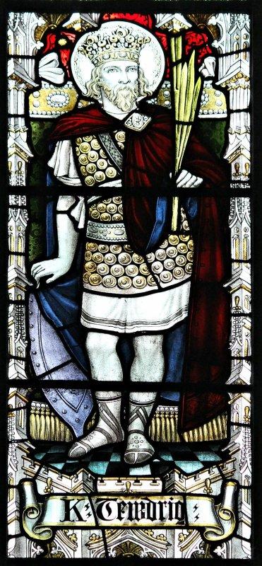 Tewdrig, un roi puissant ayant choisi une vie contemplative