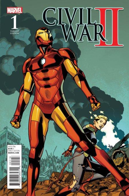 Civil War II : le difficile choix des super héros Marvel