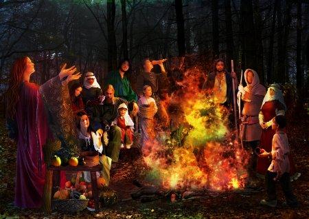 Les Aos Sí, des êtres surnaturels qu'il fallait calmer à Samhain