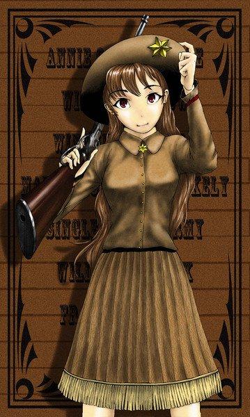 Annie Oakley, une tireuse de précision