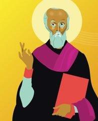 St David, l'évangélisateur du Pays de Galles