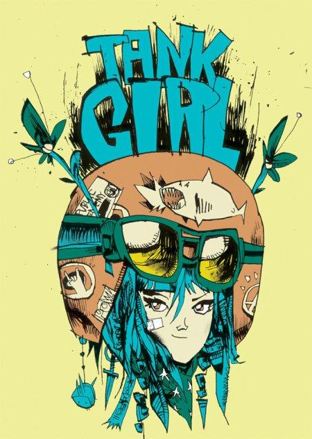 Tank Girl, une jeune femme qui n'a pas froid aux yeux