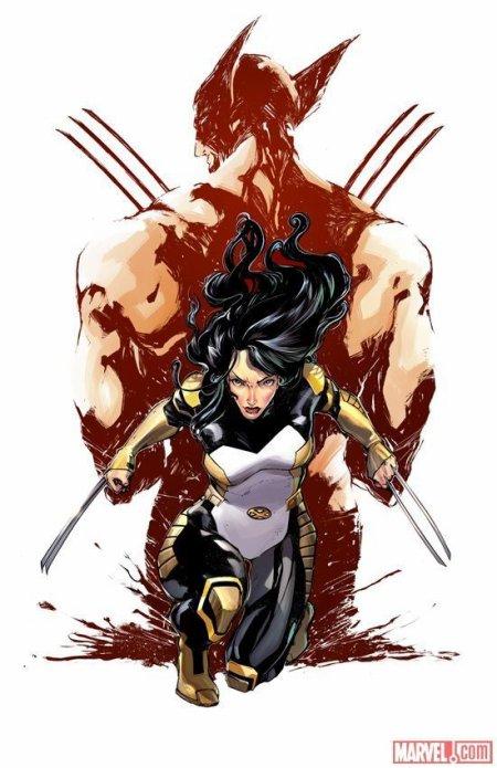 X-23, la clone de Wolverine qui a repris le costume