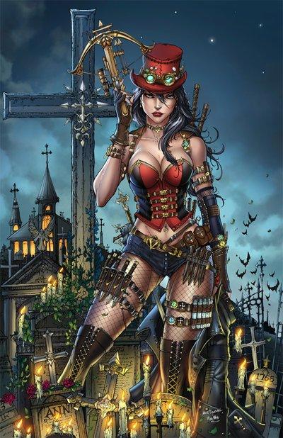 Liesel Van Helsing, une chasseuse de vampires luttant contre les forces des ténèbres