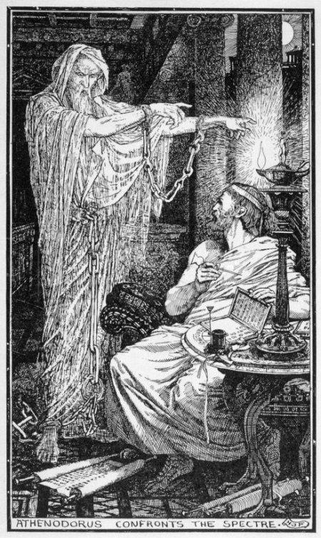 Les fantômes dans le monde Romain