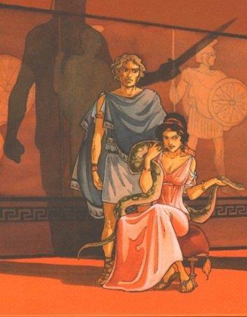Olympias, une reine ambitieuse pour ses enfants