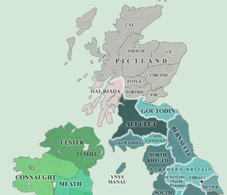Le Deifr et le Brynaich, deux royaumes bretons peu connus