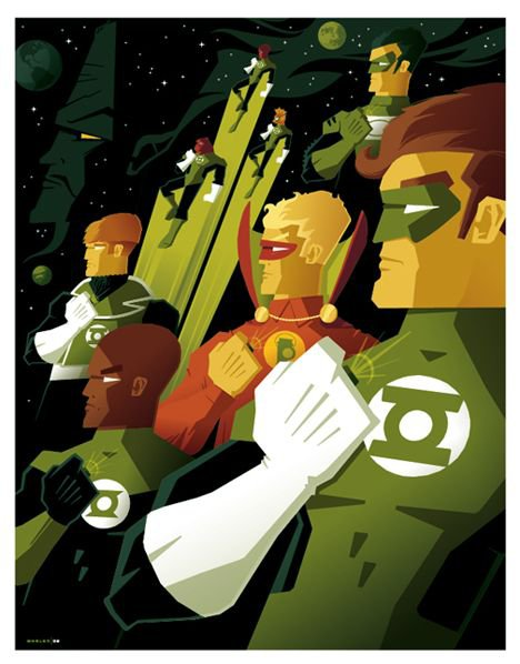 Kyle Rayner, un membre éminent du Green Lantern Corps
