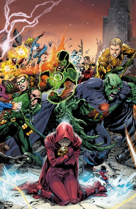 Simon Baz, un Green Lantern au contexte très contemporain