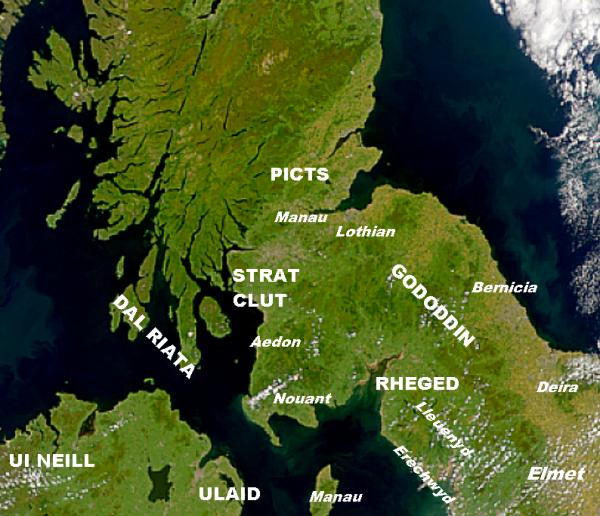 Le Gododdin, un territoire entre alliance, soumission et rébellion