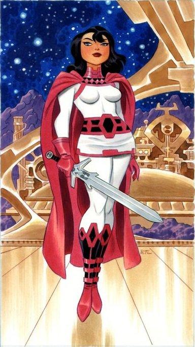 Dame Sif, une déesse guerrière puissante et altruiste