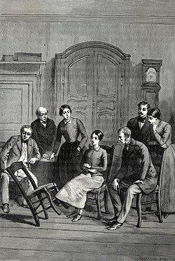 """Angélique Cottin, """"la fille électrique"""""""
