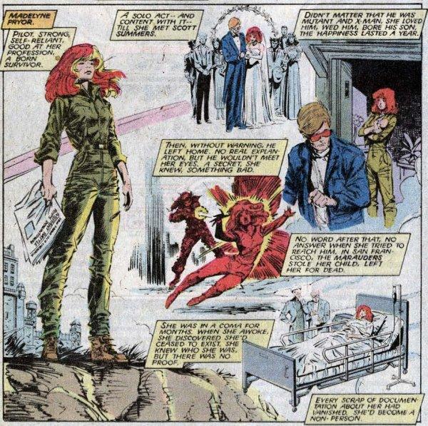 Madelyne Pryor, une mutante aux pouvoirs démoniaques et aux histoires amoureuses compliquées