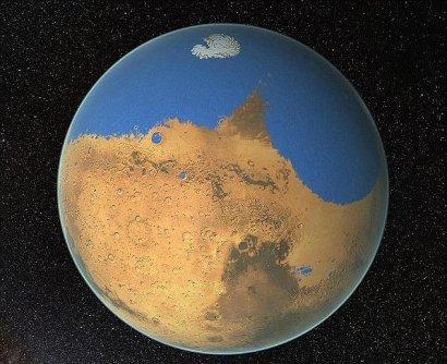 Mars, détruite par des explosions nucléaires ?