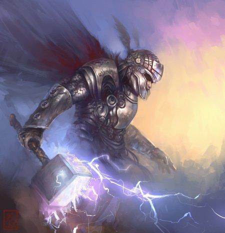 Thor, un dieu de la foudre, dont la puissance n'est pas toujours utile