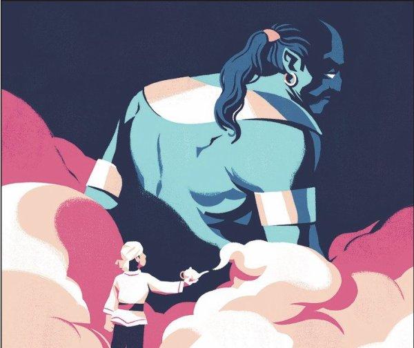 Aladin et la lampe merveilleuse, un conte poussant à être responsable