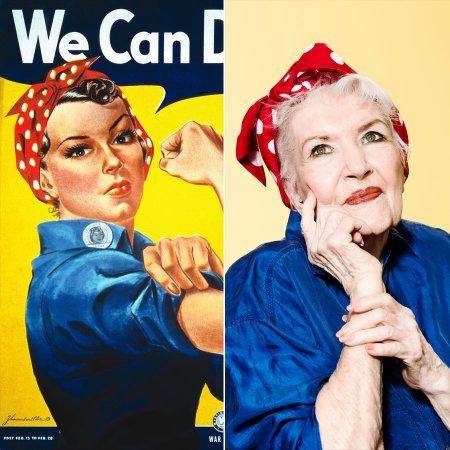 Rosie The Riveter, est morte