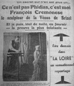 La Vénus aux navets : ou comment un sculpteur a piégé les experts