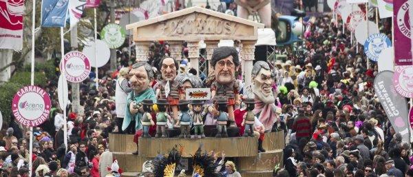 Les grandes dionysies, un des ancêtres du carnaval