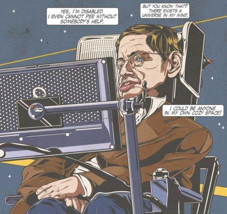 Stephen Hawking, une génie qui a dépassé sa maladie