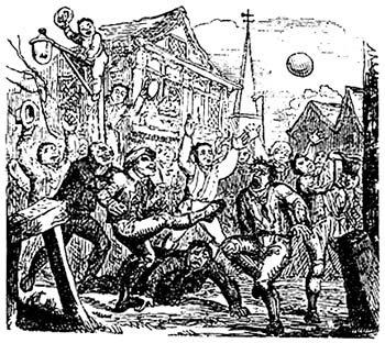 La soule, un ancêtre du football renaissant